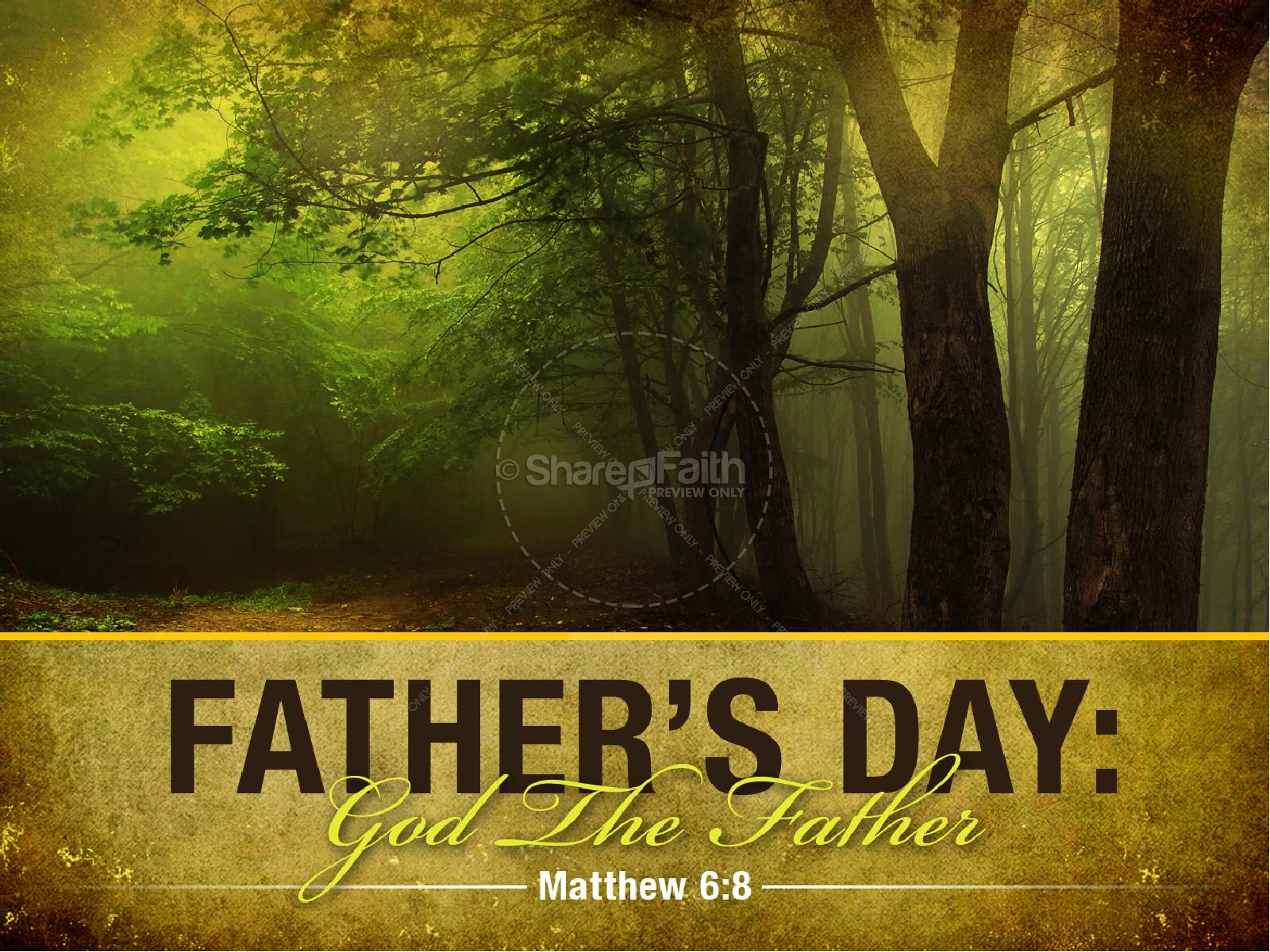 Father's Day Church PowerPoint Template