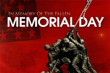 Memorial Day Video Loop Welcome