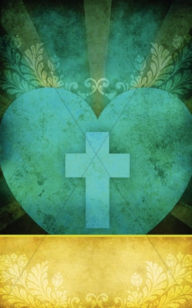Heart and Cross Church Bulletin Cover