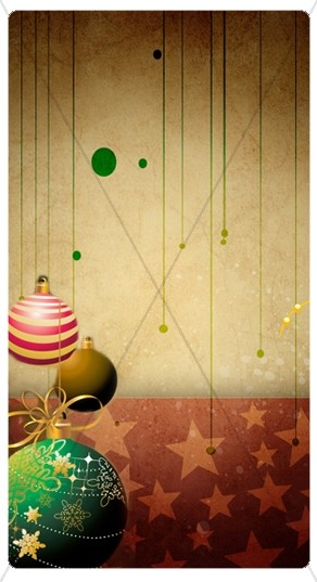 Christmas Deco Banner Widget