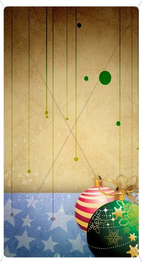 Christmas Decorations Banner Widget