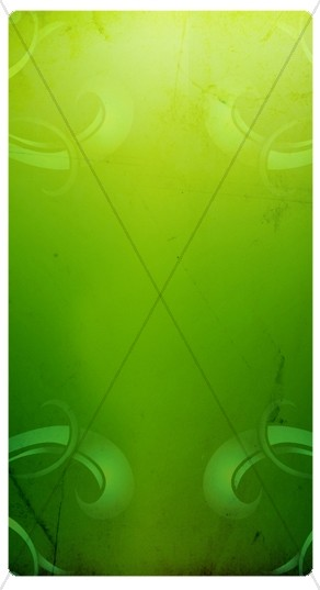 Vivid Green Banner Widget