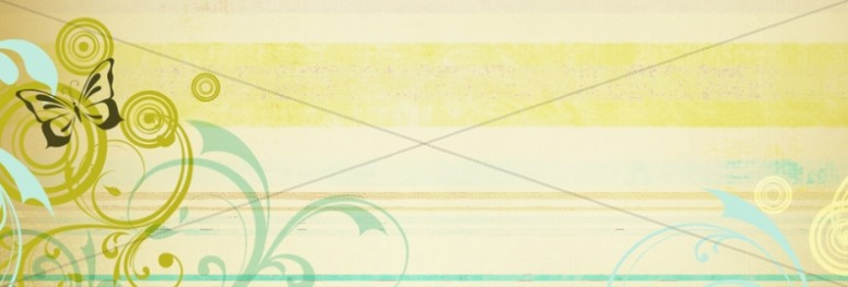 Spring Deco Website Banner