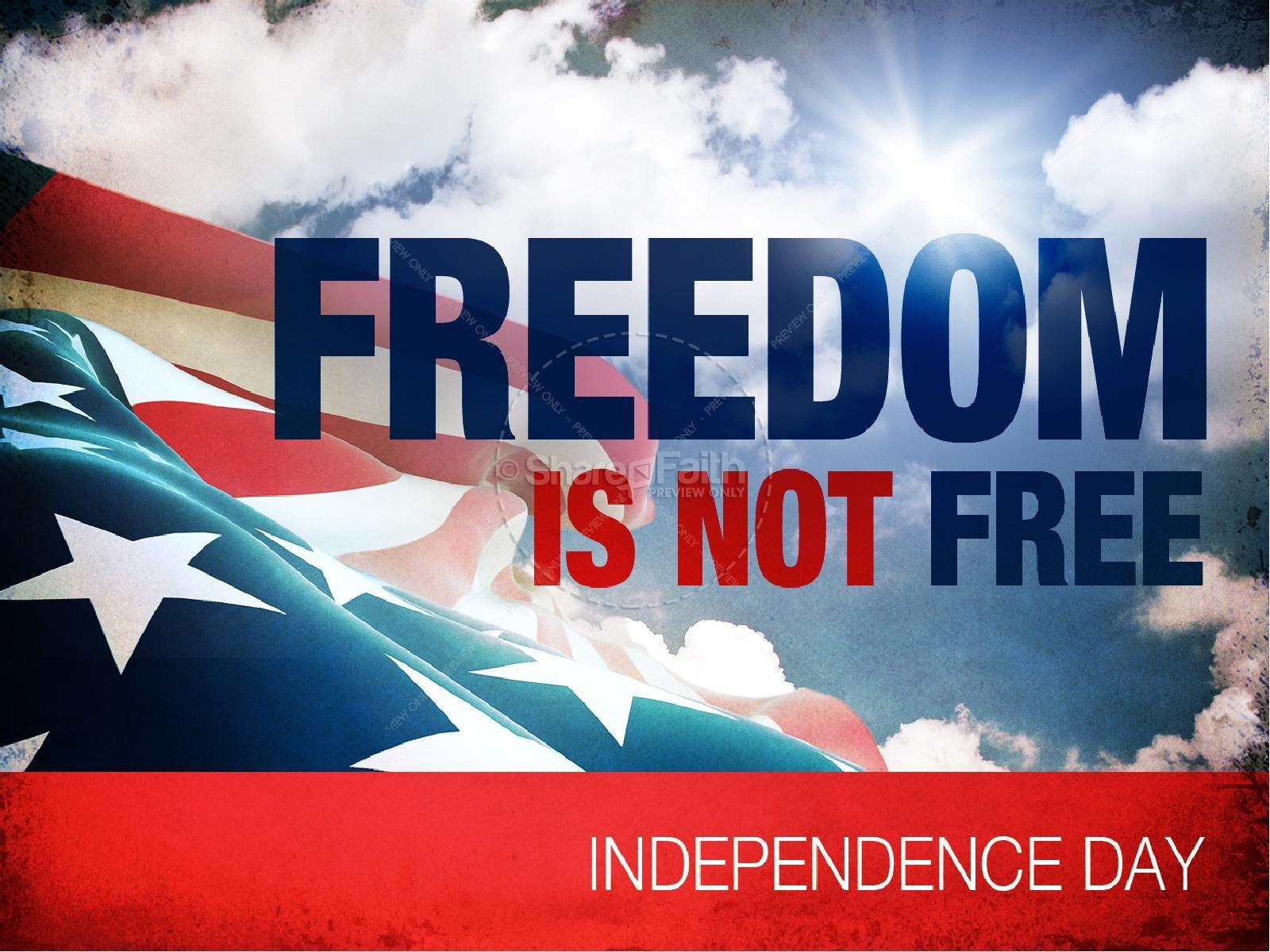 Freedom Calls PowerPoint Sermon   slide 1