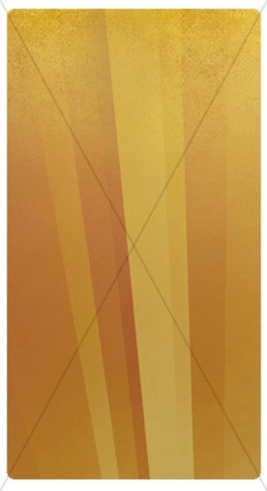 Golden Rays Banner Widget