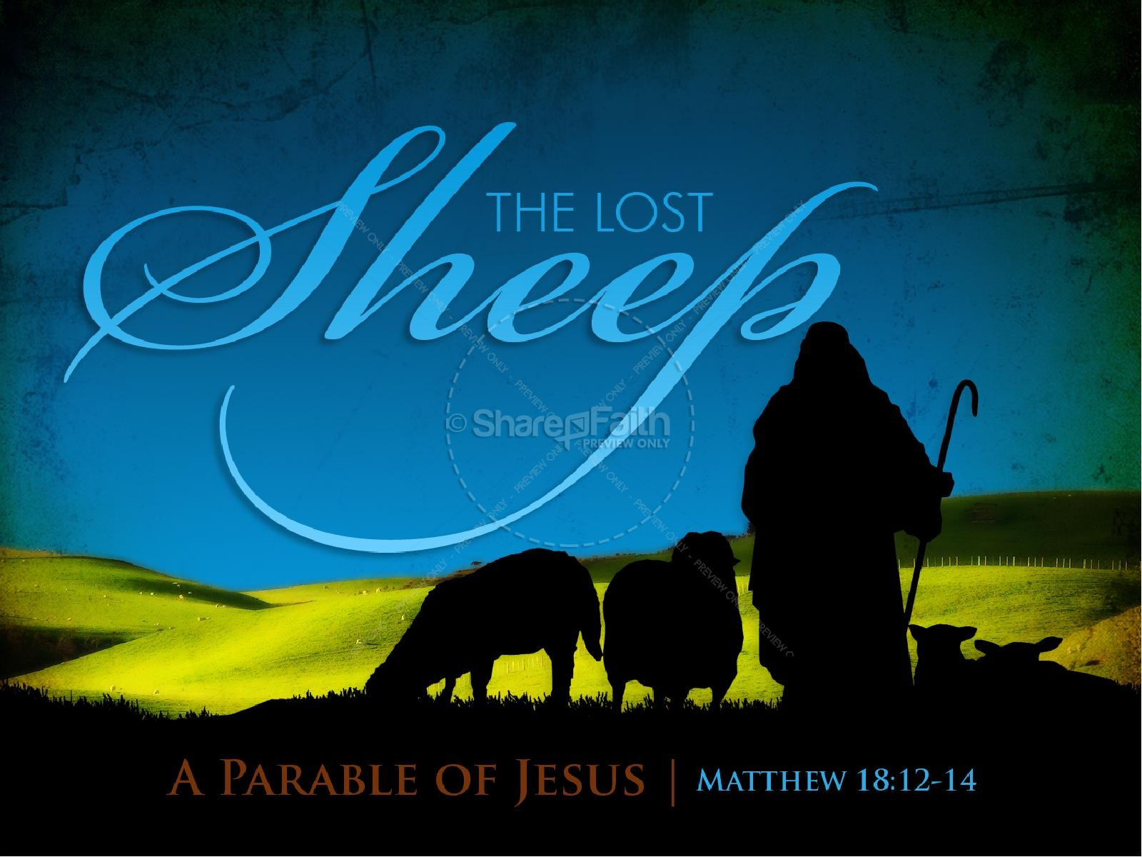 lost sheep sermon powerpoint powerpoint sermons
