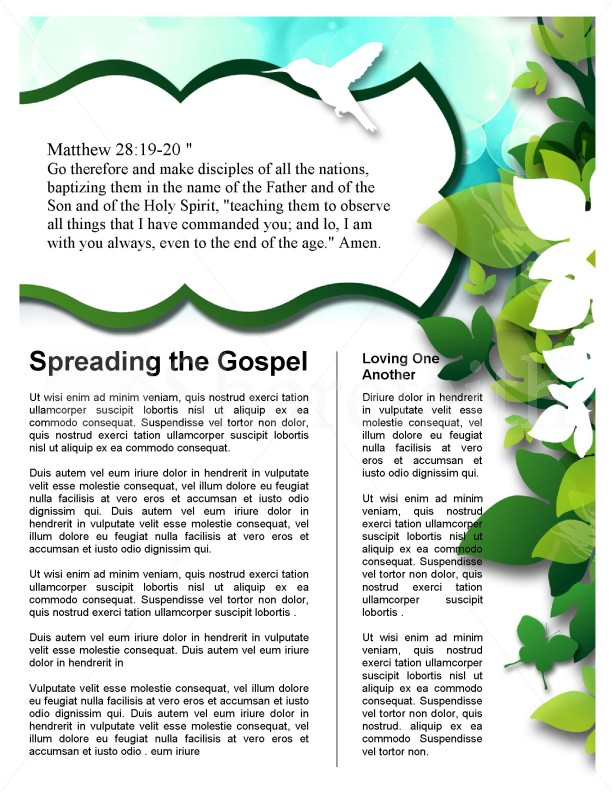 Green Leaves Church Newsletter | page 3