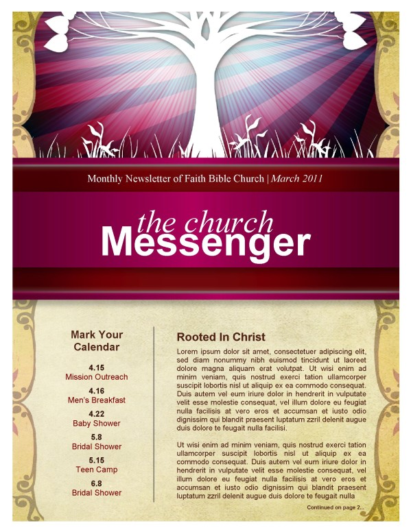 Tree Church Newsletter