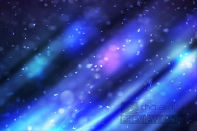 Abstract Particles Worship Video