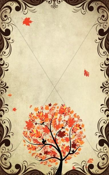 Fall Tree Church Bulletin