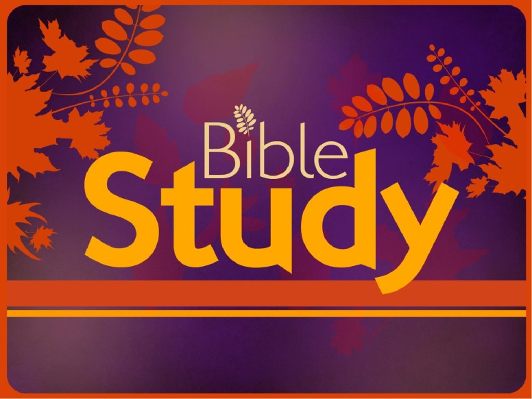 Bible Study PowerPoint