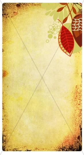 Fall Designs Website Sidebar