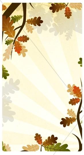 Oak Tree Website Sidebar