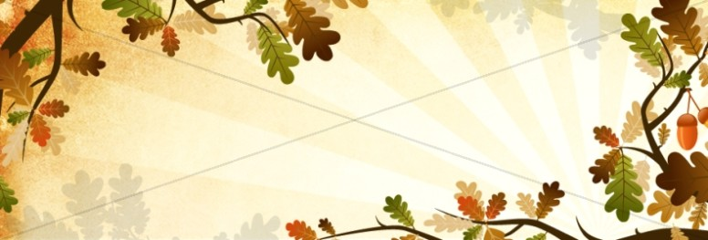 Oak Tree Website Banner