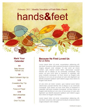 harvest church newsletter template for fall template newsletter