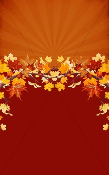 Fall Leaves Program Art