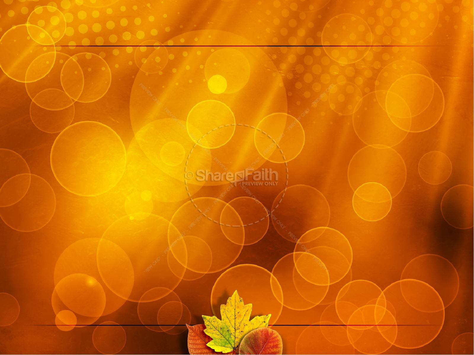 Happy Thanksgiving PowerPoint Template