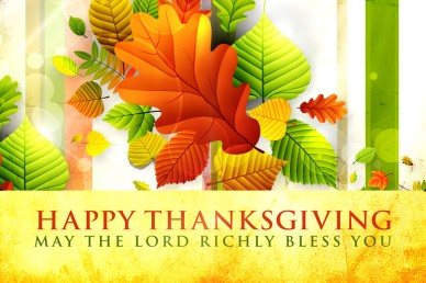 Thanksgiving Blessings Church Video Loop