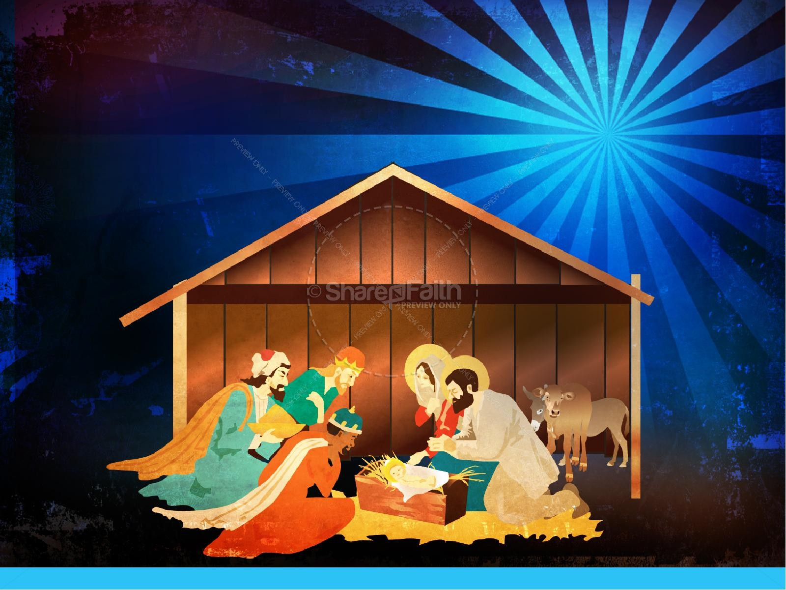The Nativity Story Christmas PowerPoint | slide 4