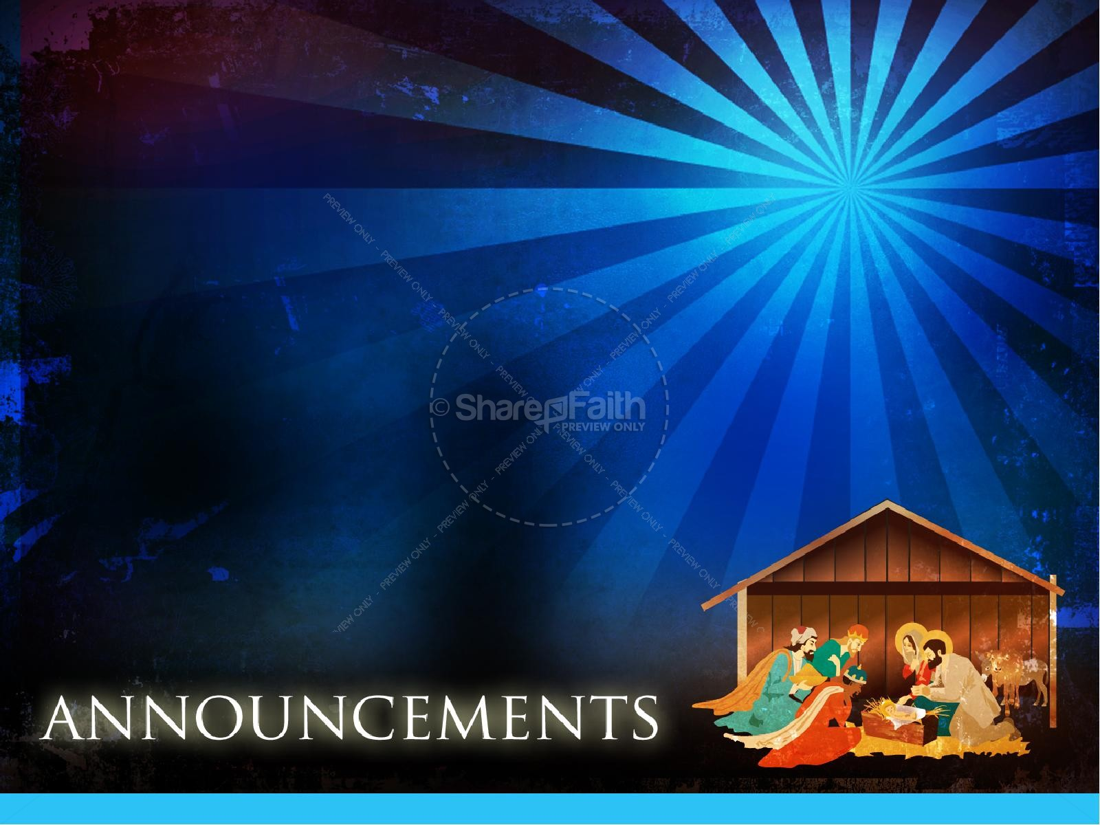 The Nativity Story Christmas PowerPoint | slide 5