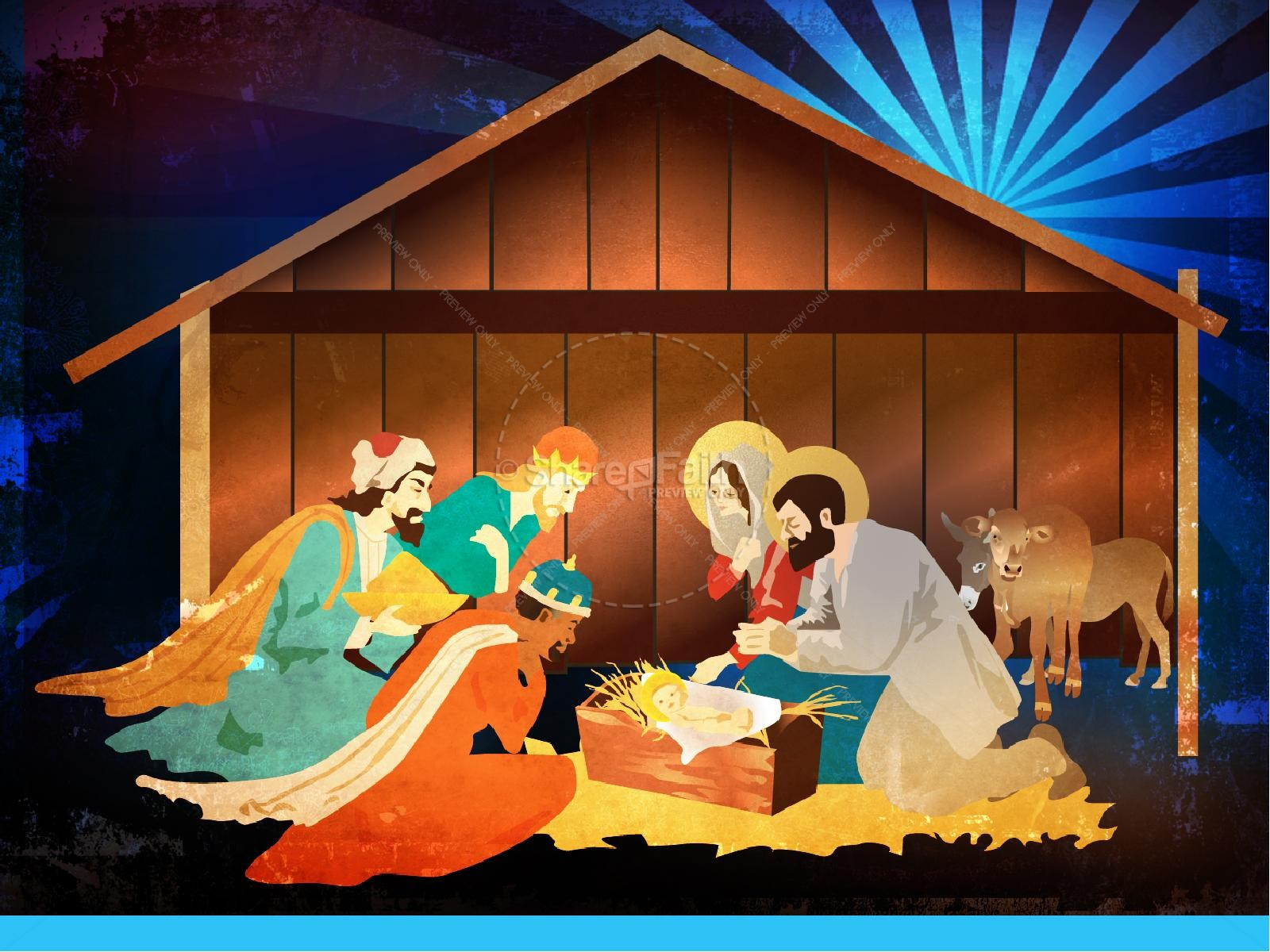 The Nativity Story Christmas PowerPoint | slide 7