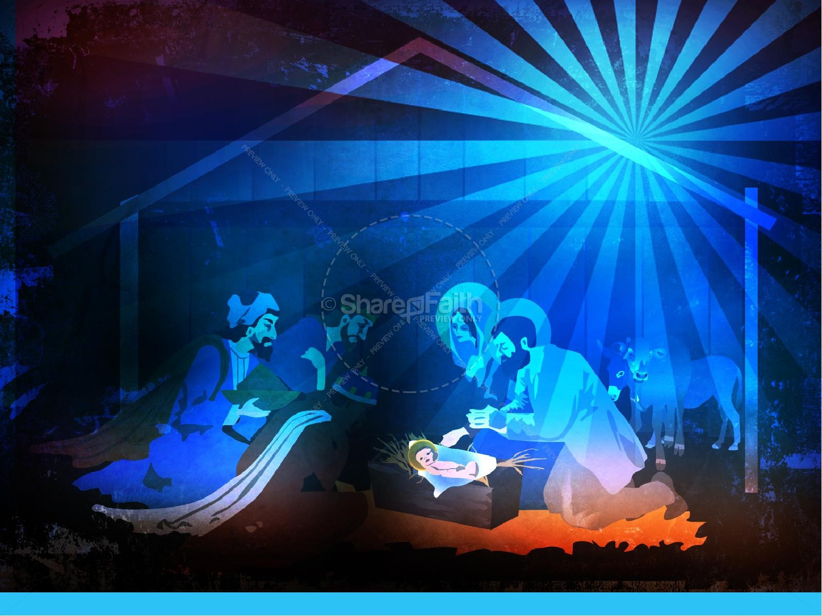 The Nativity Story Christmas PowerPoint | slide 8