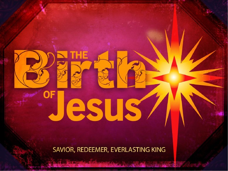 The Birth of Jesus PowerPoint Template