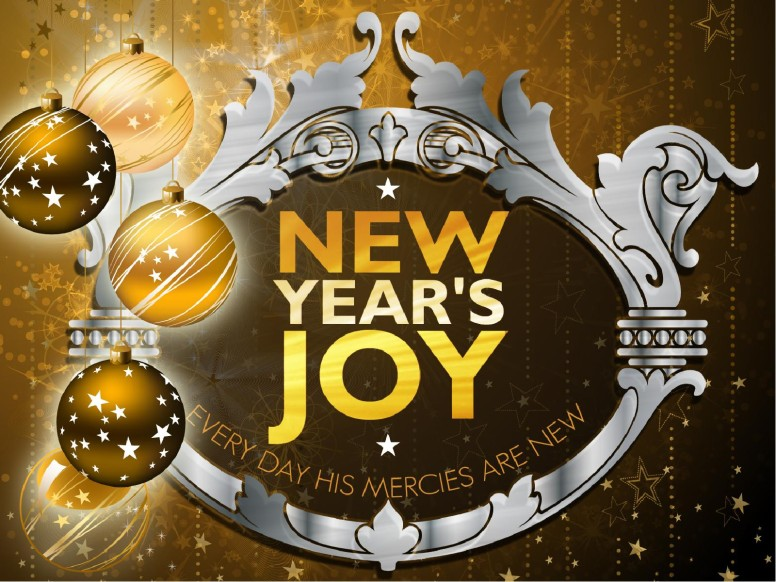 New Year's Joy PowerPoint Sermon