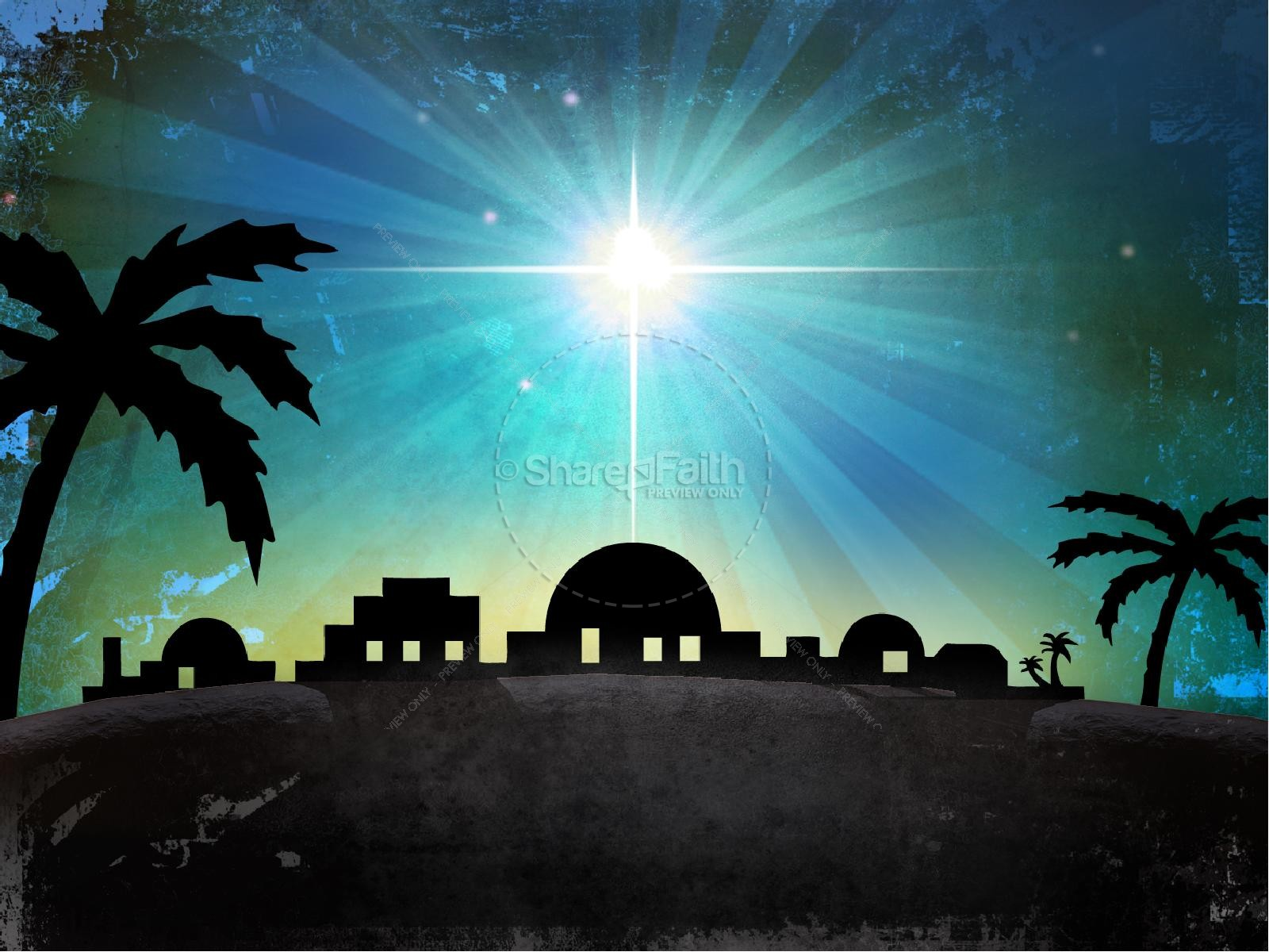 bethlehem powerpoint template christmas powerpoints star of david clipart graphics Christmas Star Clip Art