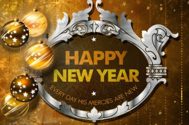 Happy New Year Welcome Loop