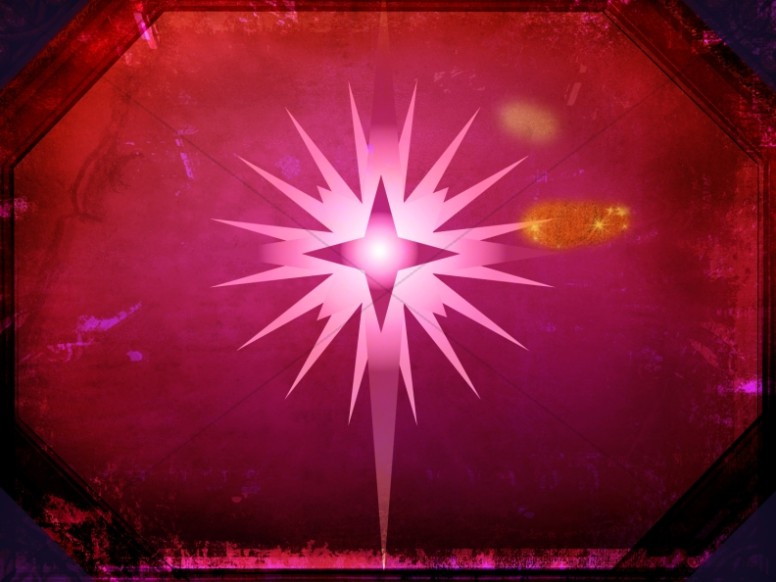 Star of Bethlehem Background Worship Slide