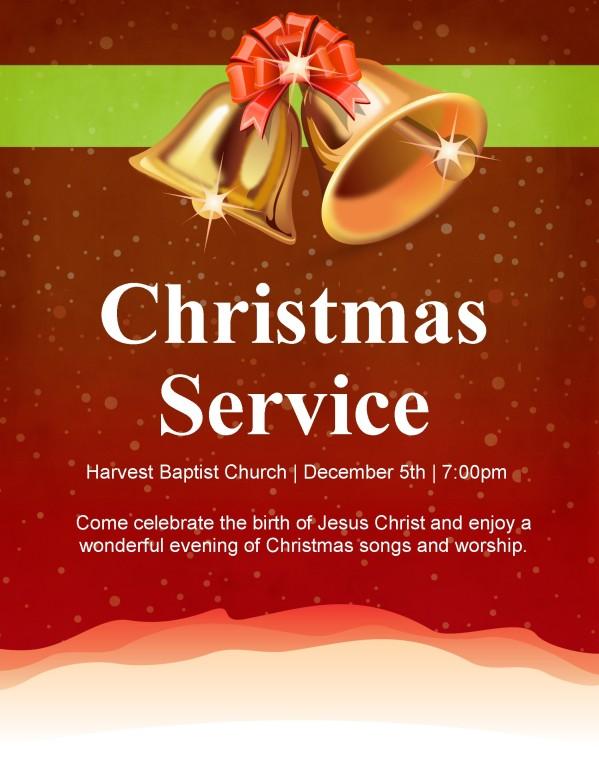 Jingle Bells Flyer Templates