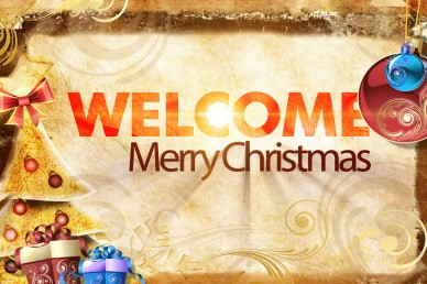 Welcome Merry Christmas Video for Church