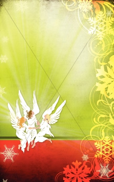 O Holy Night Christmas Bulletin Cover