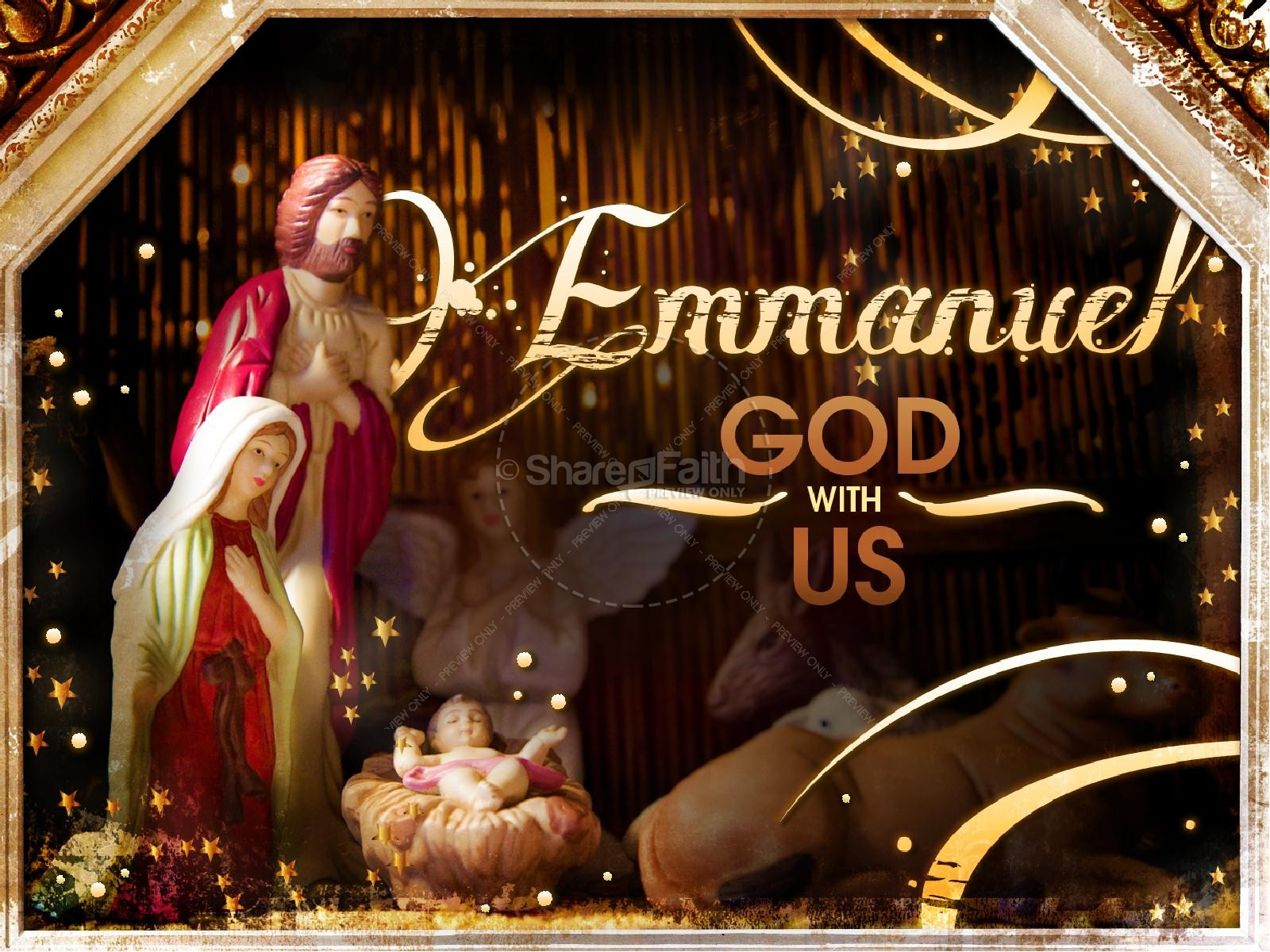 Emmanuel God With Us PowerPoint