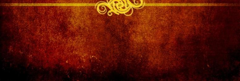 Elegant Swirls Website Banner