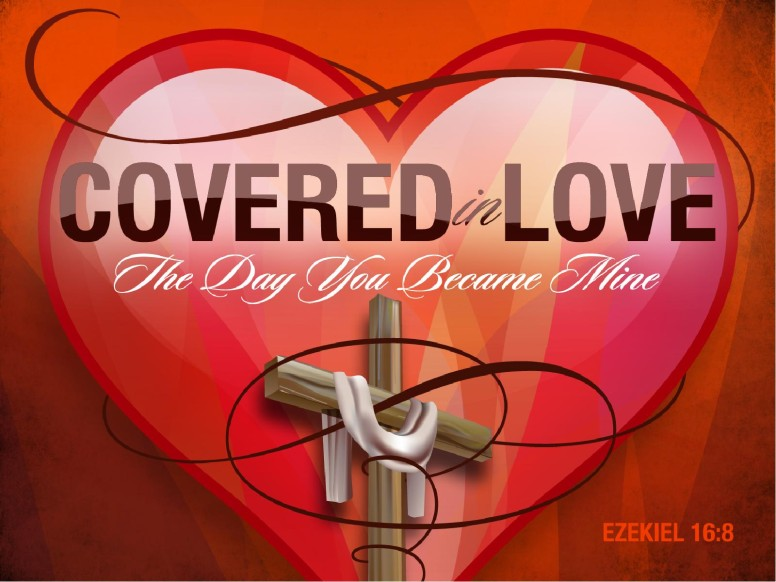 Covered in Love PowerPoint Template
