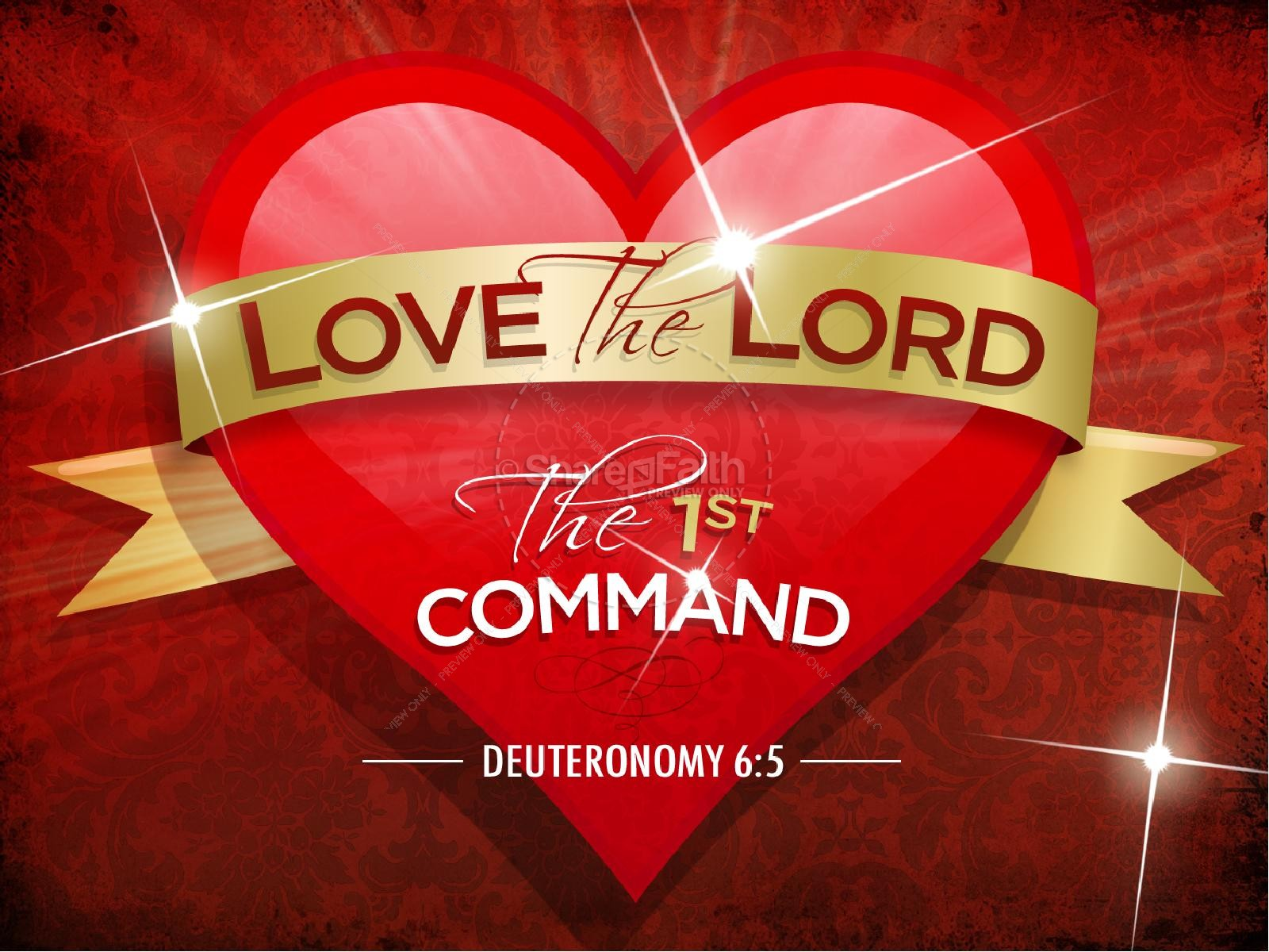 Schön ... Valentines Day Graphics · Love The Lord PowerPoint Sermon
