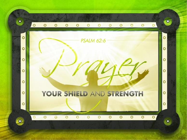 Prayer Shield PowerPoint Template