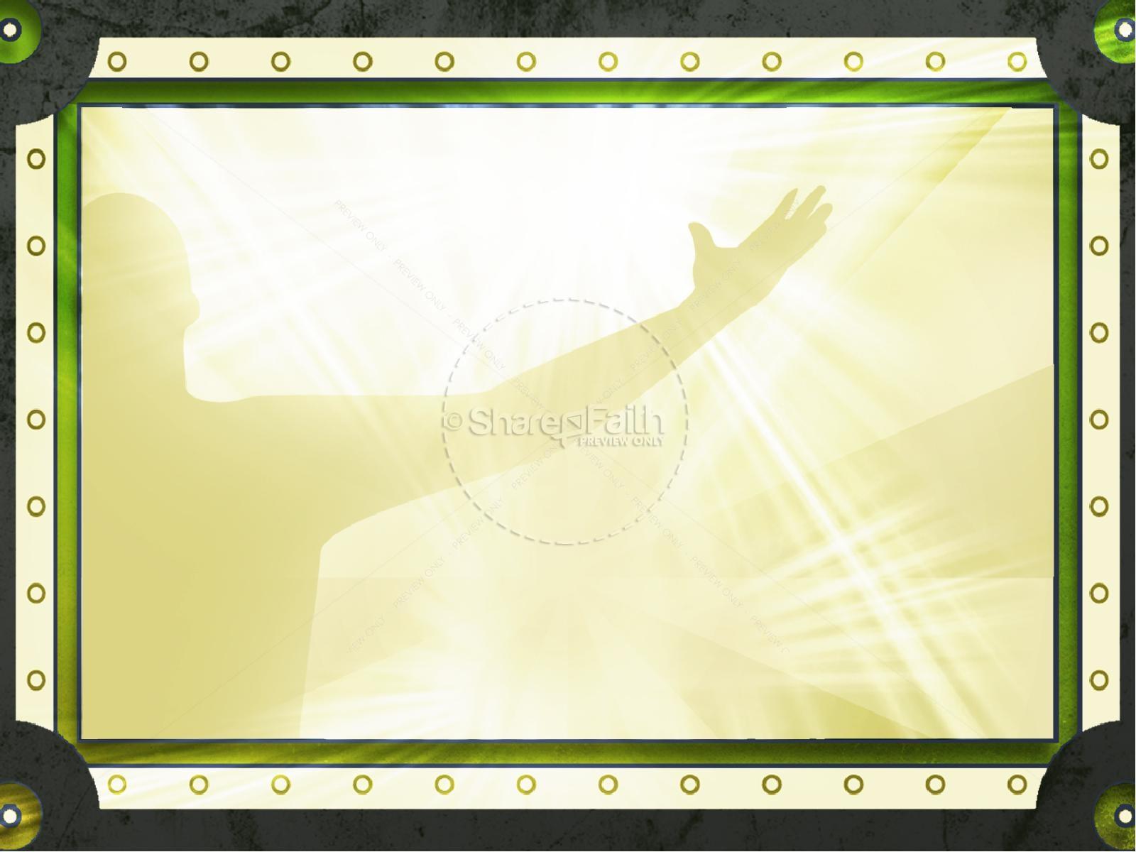 Prayer Shield PowerPoint Template | slide 8