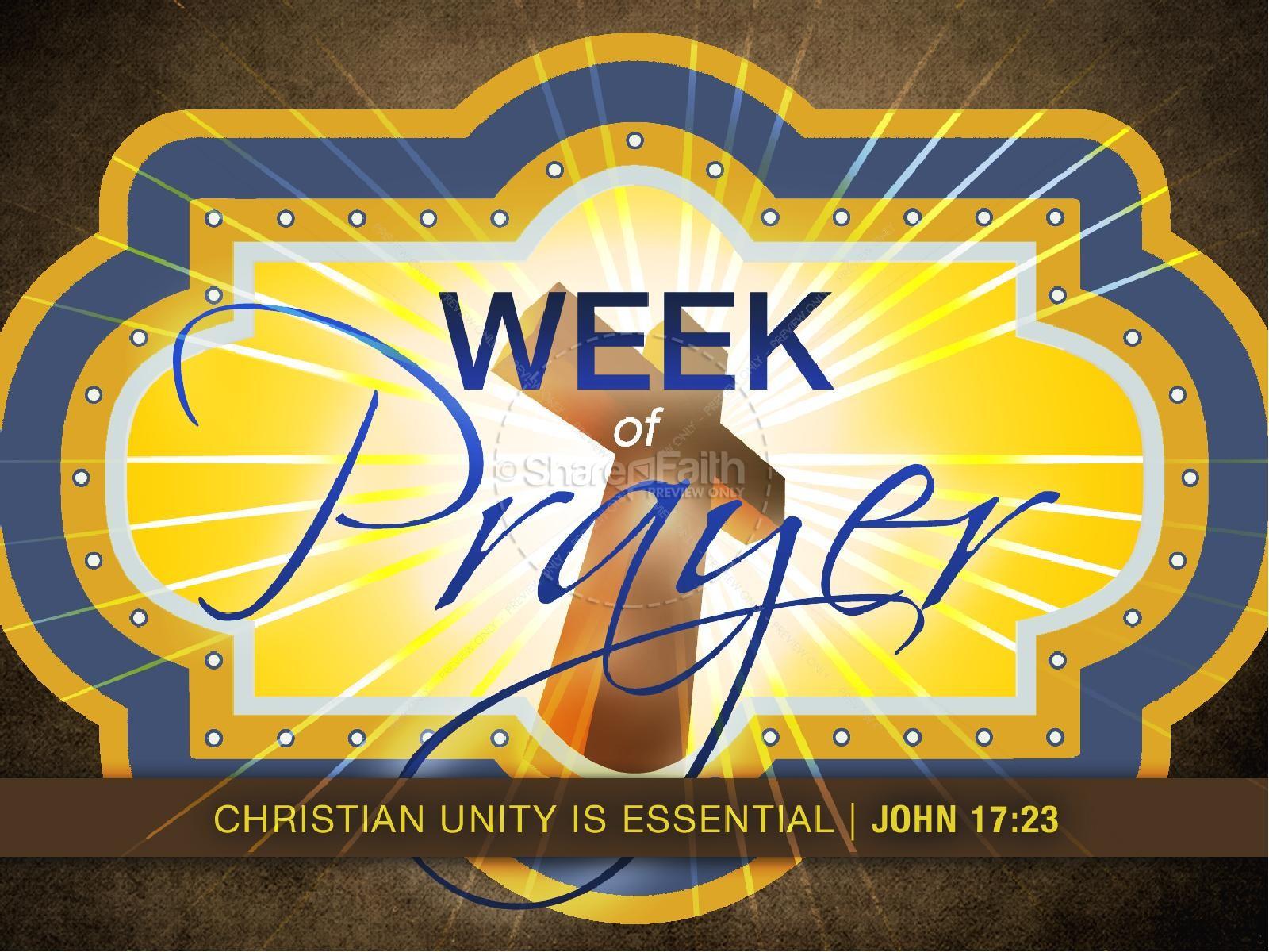 Week of Prayer PowerPoint | slide 1