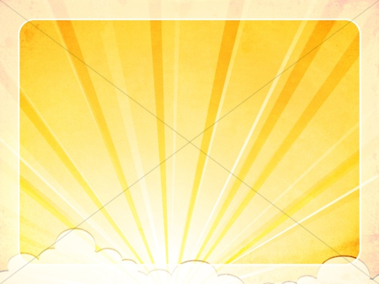 Rays of Light Worship Background