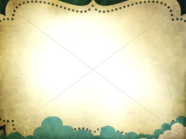 Dotted Border Worship Background