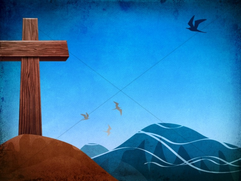 The Cross Worship Background Template