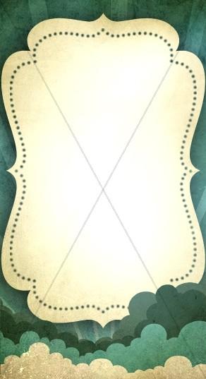 Dotted Frame Banner Widget