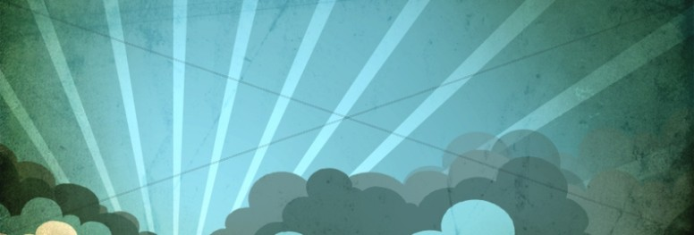 Sky Clouds Website Banner