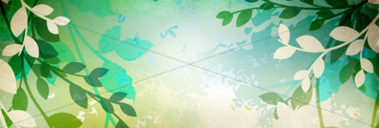 Leafy Website Banner