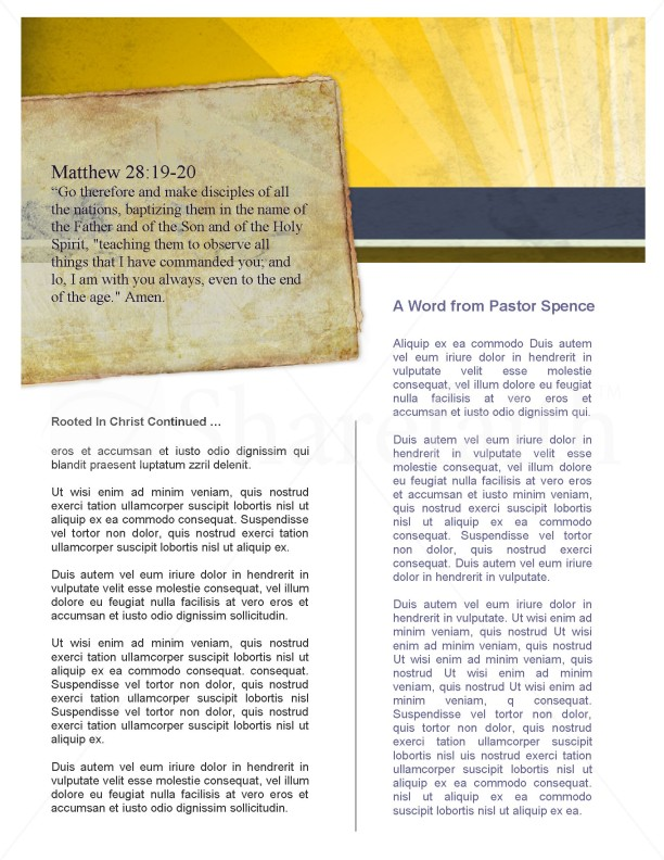 Forgiven Flyer | page 2