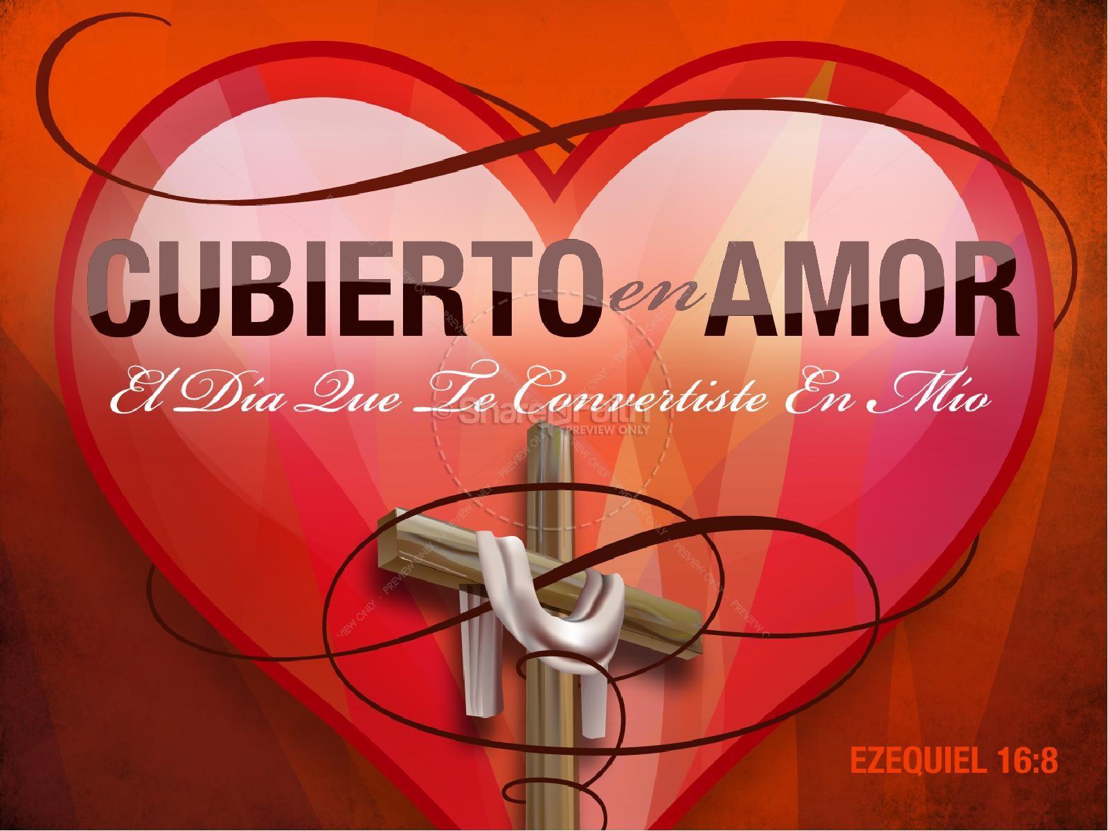 Cubierto en Amor PowerPoint | slide 1
