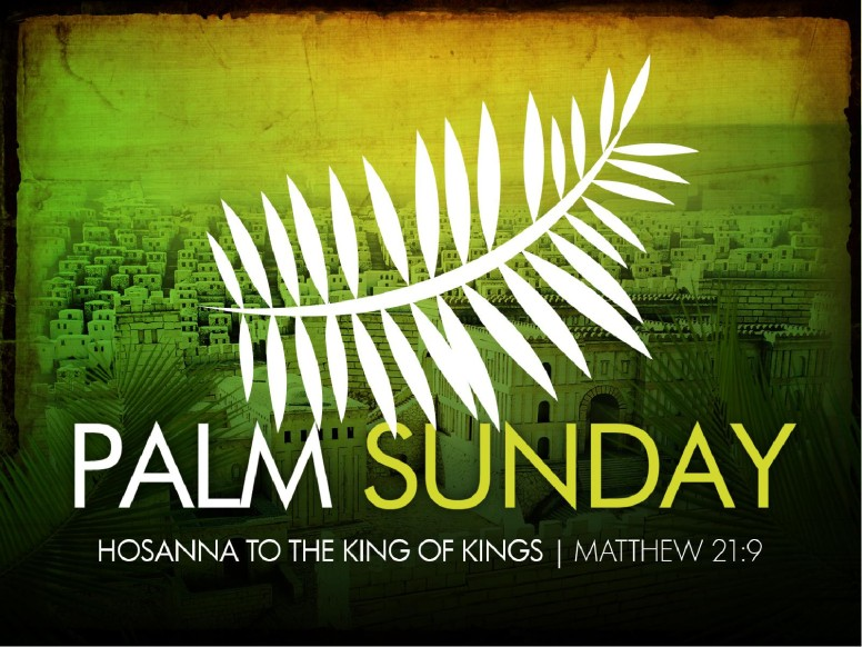 Palm Sunday PowerPoint Design